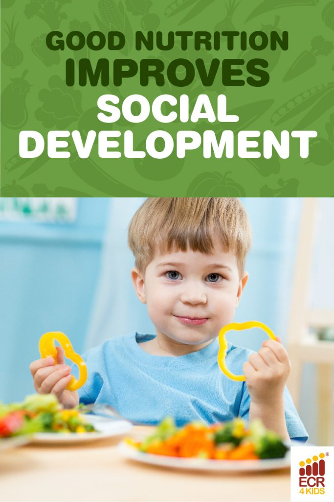 How Good Nutrition Helps Kids' Social Development | San Diego, CA | ECR4Kids Furniture | Pinterest