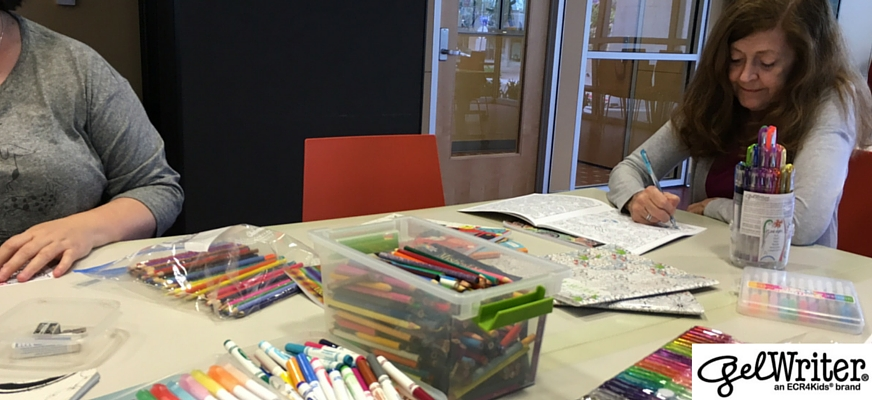 Check Out Adult Coloring At Your Local Library