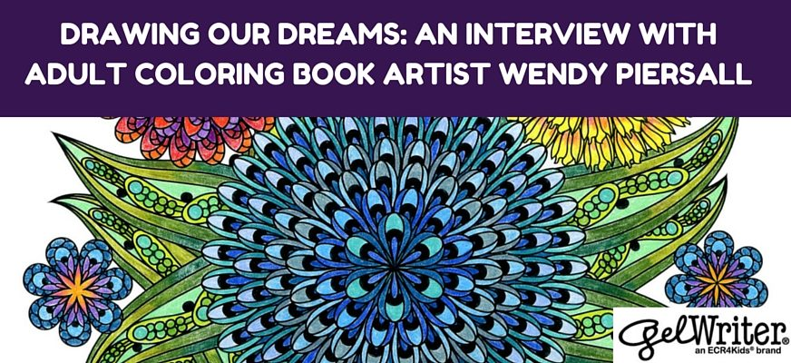 Drawing Our Dreams: An Interview With Adult Coloring Book Artist Wendy Piersall