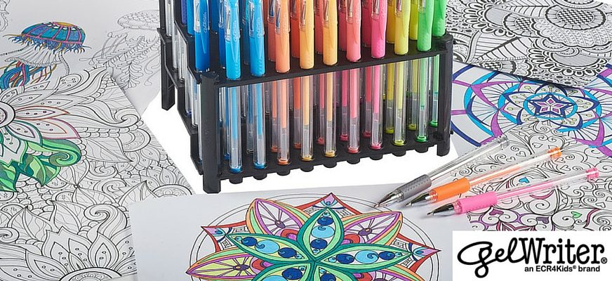 9 Easy Things To Make With Your Finished Coloring Pages | ECR9Kids Blog