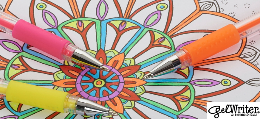 9 Places To Find Free Adult Coloring Pages | ECR4Kids GelWriter | San Diego, CA
