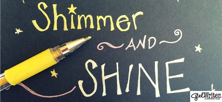 Shimmer and Shine: The Ultimate Guide to Glitter and Metallic Gel Pens