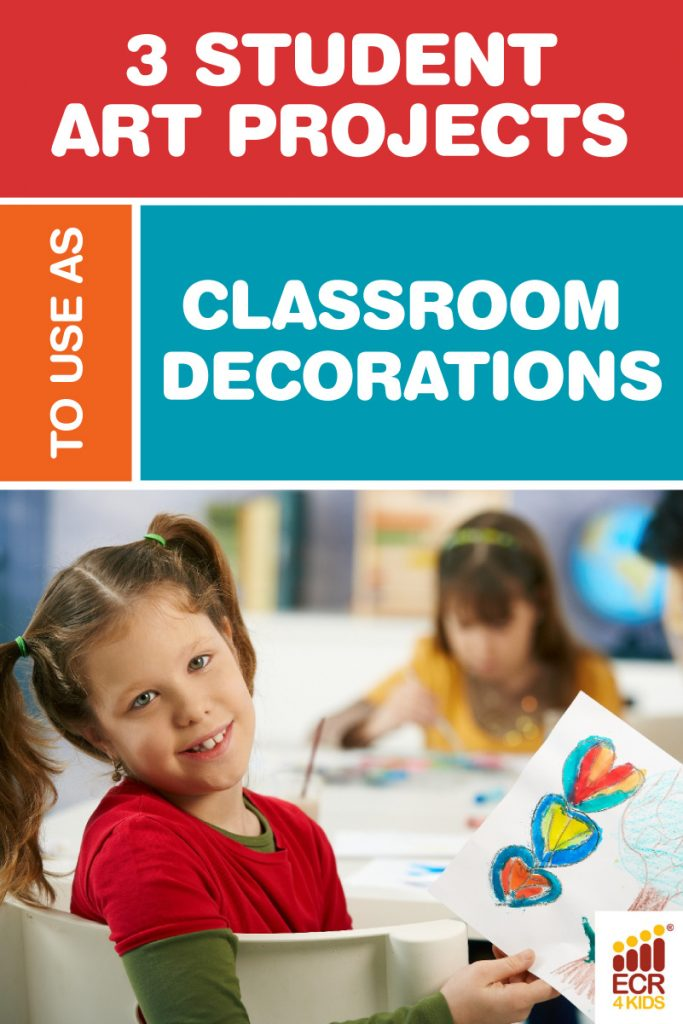 3 Student Art Projects to use as Classroom Decorations | ECR4Kids Furniture San Diego CA