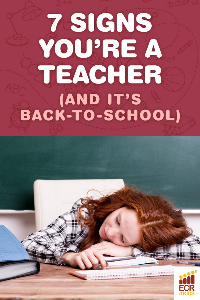 ECR4Kids Signs it's back to school season for teachers