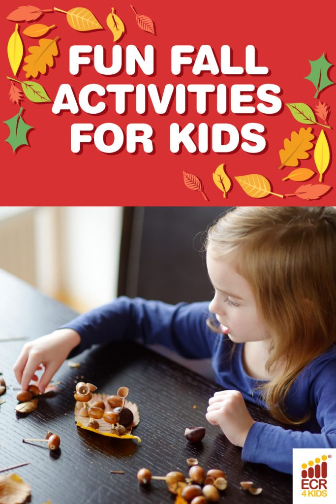 Fun Fall Activities for Kids | ECR4Kids Children's Furniture Educational Supplies | San Diego CA