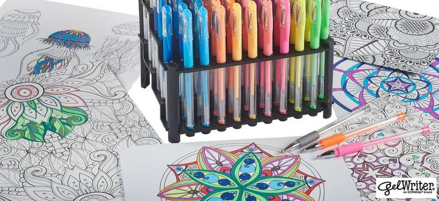 Welcome to GelWriter's First Community Coloring Roundup!