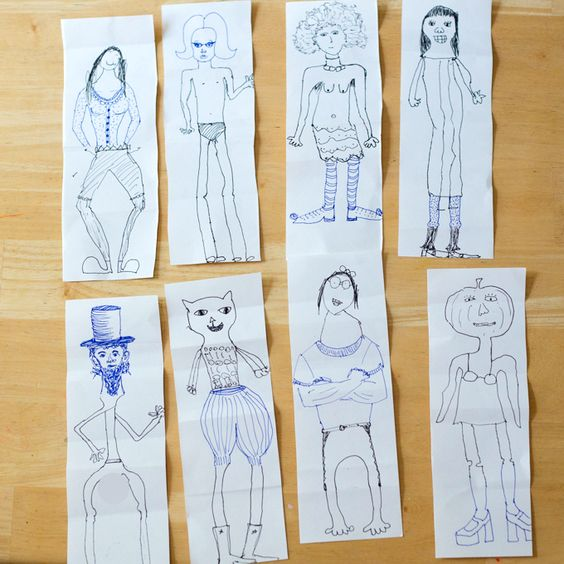 5 Ridiculously Fun Family Drawing Games | ECR4Kids Blog