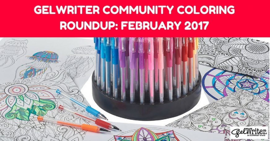 GelWriter Community Coloring Roundup: February 2017