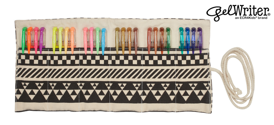 Portable Gel Pen Sets for Artists On the Go