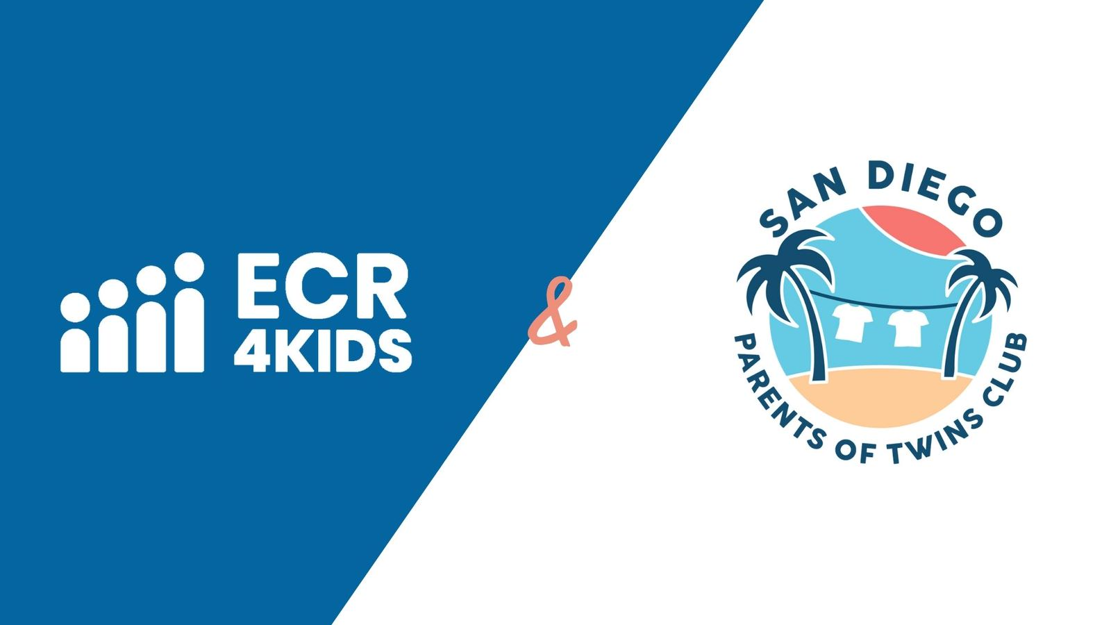 ECR4Kids and The San Diego Parents of Twins Club